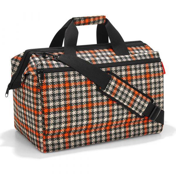 Reisenthel Cestovní taška Allrounder L Pocket Glencheck Red 32 l
