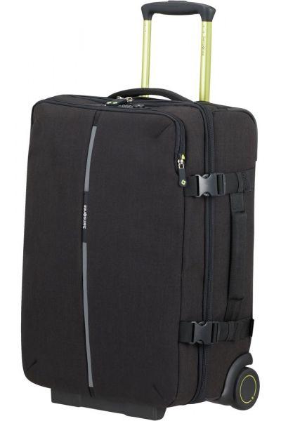 Samsonite Cestovní taška na kolečkách Securipak 39 l – černá