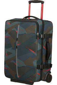 Samsonite Cestovní taška na kolečkách Securipak 39 l – tmavě zelená