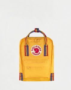 Fjällräven Kanken Rainbow Mini 141-907 Warm Yellow-Rainbow Pattern 7 l