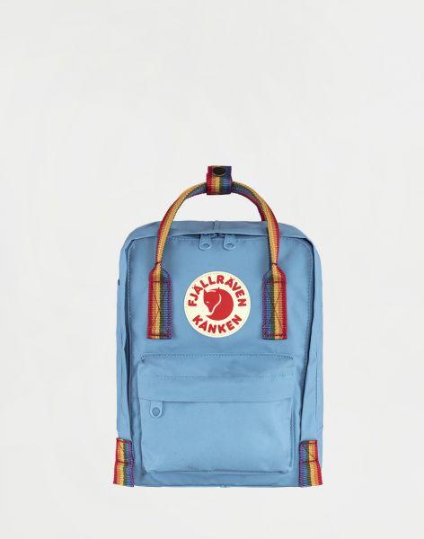 Fjällräven Kanken Rainbow Mini 508-907 Air Blue-Rainbow Pattern 7 l