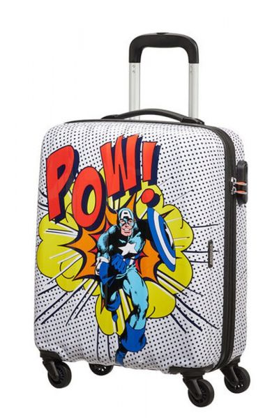American Tourister Kabinový cestovní kufr Marvel Legends 36 l – vzor/černá