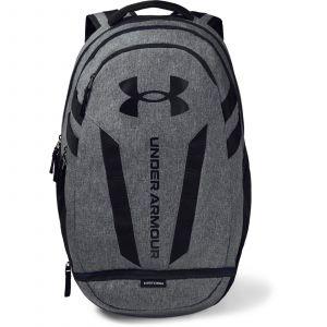 Under Armour UA Hustle 5.0 Backpack Black / Graphite Medium Heather / Black