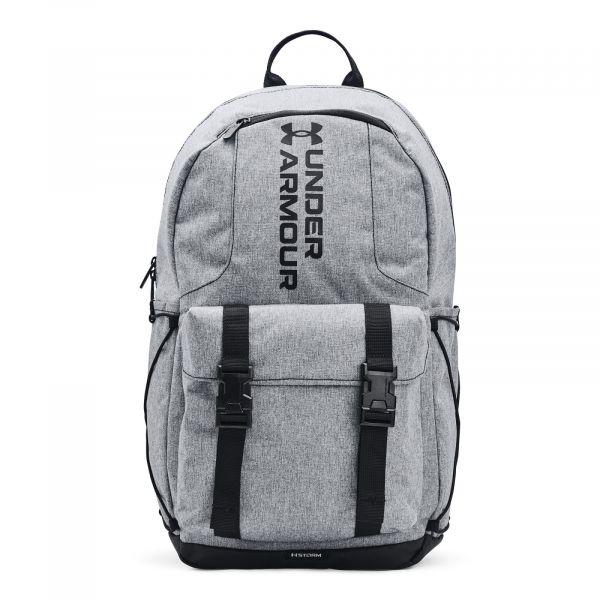 Under Armour UA Gametime Backpack Pitch Gray Medium Heather / Black / Black
