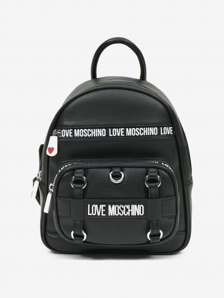 Batoh Love Moschino Černá 1087819