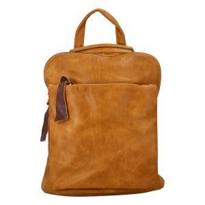 Dámský batoh Paolo Bags Marta – žlutá