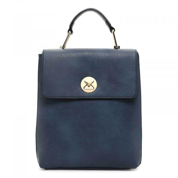 Elegantní dámský batoh Emily & Noah Flosesta – modrá