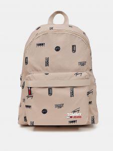 Campus Dome Backpack Print Batoh Tommy Hilfiger Béžová 1094324