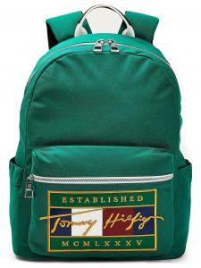 Signature Flag Backpack Batoh Tommy Hilfiger Zelená 1094325