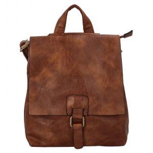 Dámský batoh Paolo Bags Linda – hnědá