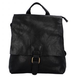 Dámský batoh Paolo Bags Linda – černá