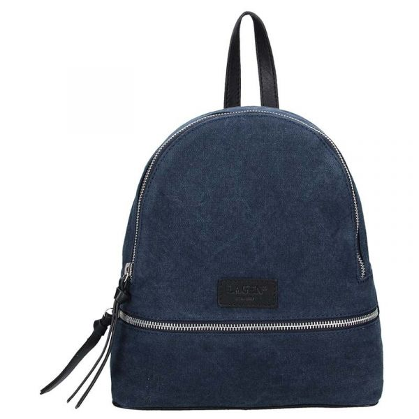 Dámský batoh Lagen Erika – modro-černá