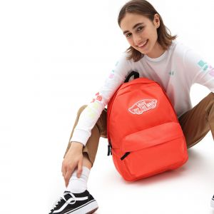 Wm realm backpack hot coral