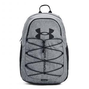 Under Armour UA Hustle Sport Backpack Pitch Gray Medium Heather / Black / Black