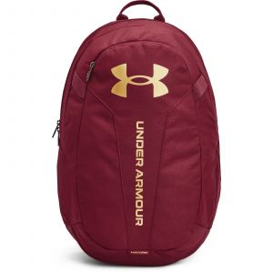 Under Armour UA Hustle Lite Backpack League Red / League Red / Metallic Gold