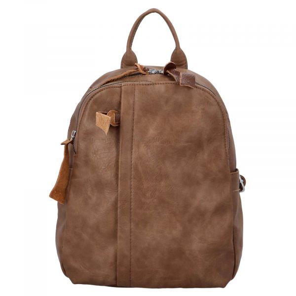 Dámský batoh Paolo Bags Alice – hnedá