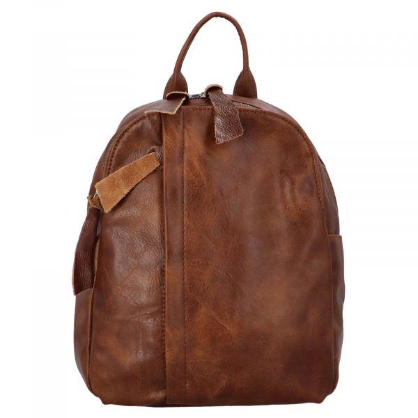 Dámský batoh Paolo Bags Alice – tmavě hnedá