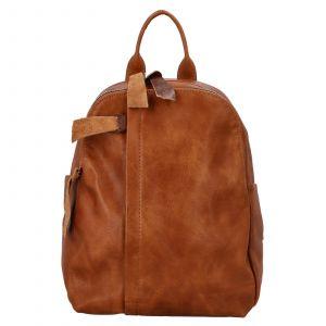 Dámský batoh Paolo Bags Alice – koňak