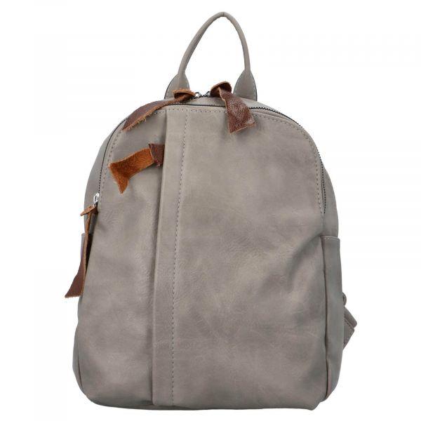 Dámský batoh Paolo Bags Alice – šedá