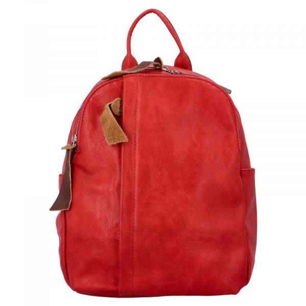 Dámský batoh Paolo Bags Alice – červená