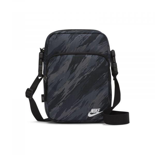 Nike heritage crossbdy-fa21 aop BLACK