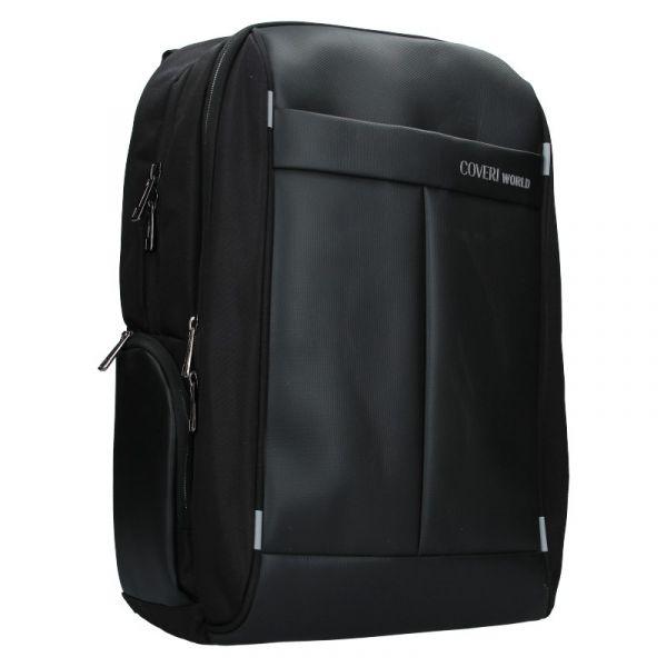 Pánský batoh Coveri World Godfrey – černá