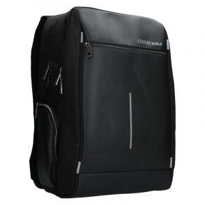 Pánský batoh Coveri World Quentin – černá
