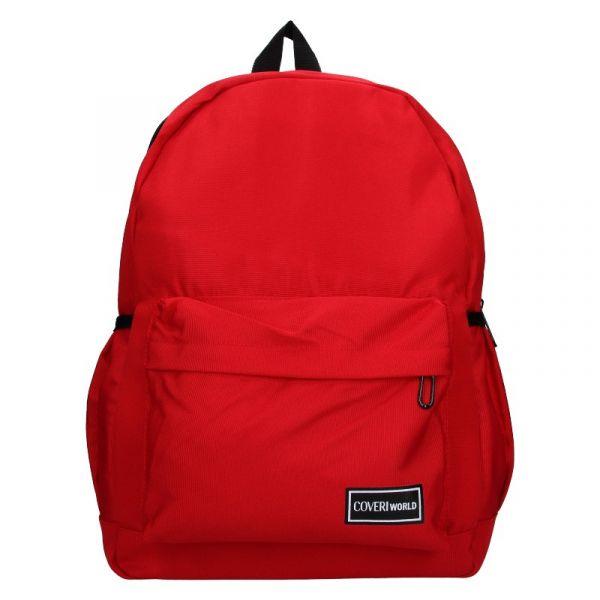 Pánský batoh Coveri World Austin – červená