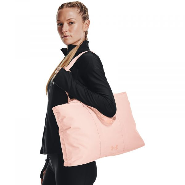 UA Favorite 2.0 Tote-RED Rush Red Tint / Rush Red Tint / Particle Pink