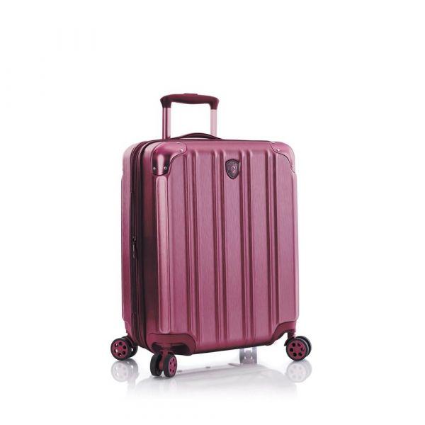 Heys Kabinový cestovní kufr DuoTrak S Burgundy 57 l
