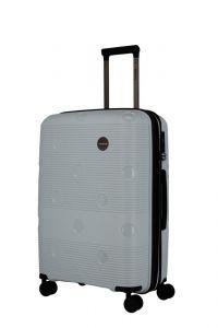 Travelite Skořepinový cestovní kufr Smarty 4w M Mint 70/79 l