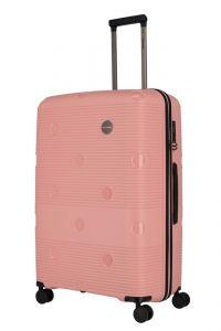 Travelite Skořepinový cestovní kufr Smarty 4w L Pink 101 l