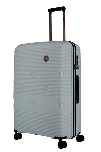 Travelite Skořepinový cestovní kufr Smarty 4w L Mint 101 l