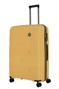 Travelite Skořepinový cestovní kufr Smarty 4w L Yellow 101 l