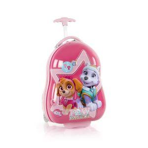 Heys Kids 2w Paw Patrol dětský cestovní kufr 46 cm Pink Star