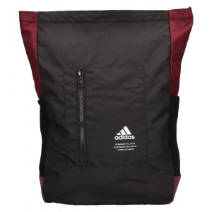 Batoh Adidas Chris – černo-vínová 22,5l