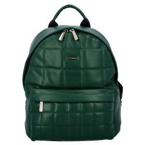 Módní dámský batoh David Jones Izolle – zelená