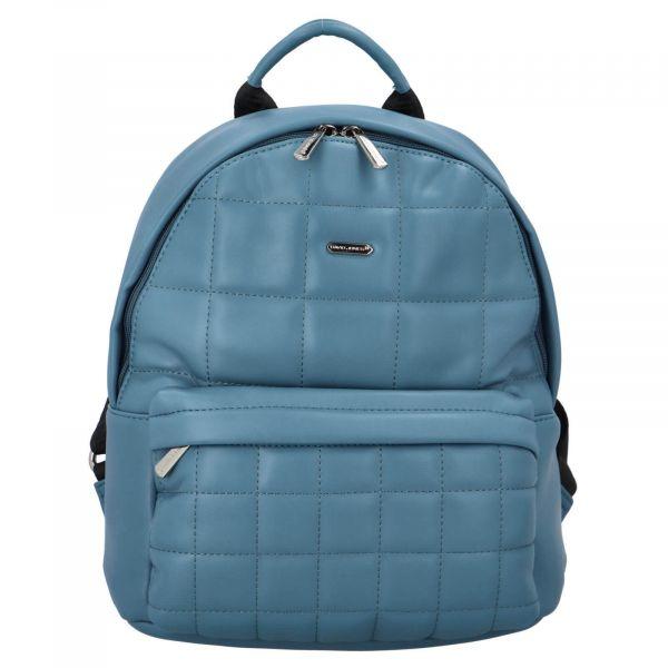 Módní dámský batoh David Jones Izolle – modrá