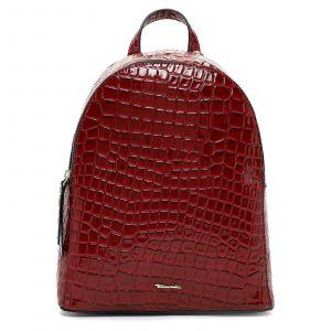 Dámský batoh Tamaris Anastase – tmavě červená