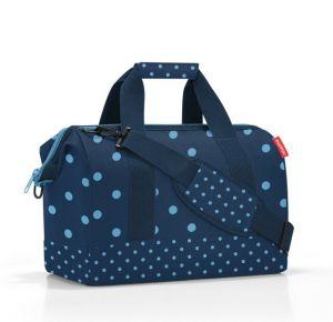 Cestovní taška Reisenthel Allrounder M Mixed dots blue