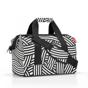 Reisenthel Allrounder M brašna ve tvaru doktorského kufříku 40 cm Zebra